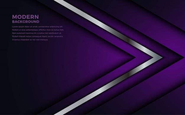 紫色のオーバーラップレイヤーの背景が暗い。