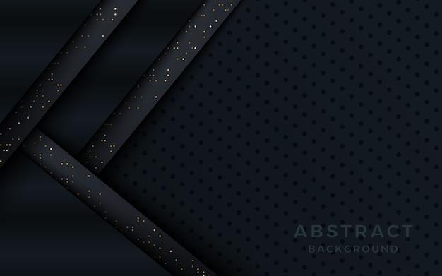 暗いメタリックオーバーラップレイヤーの背景にドット。