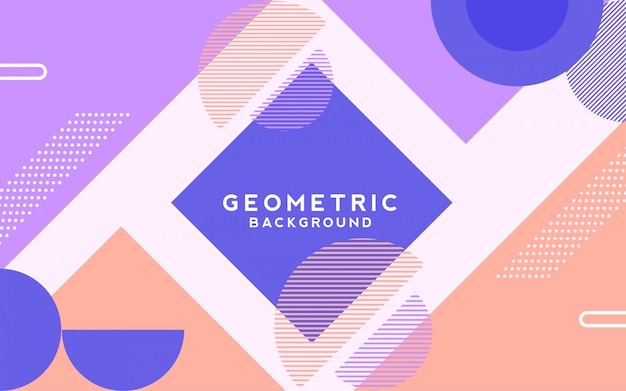 Геометрический фон вектор.