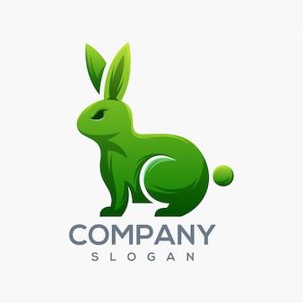Логотип кролика готов к использованию