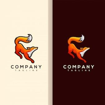 キツネのロゴデザイン
