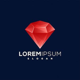 Алмазный дизайн логотипа
