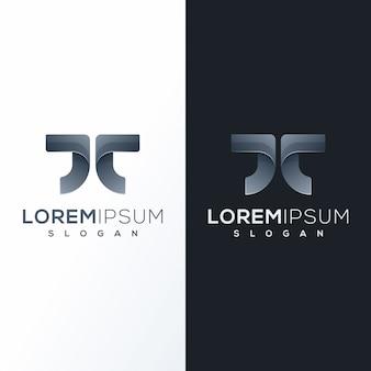 Красочный дизайн логотипа технологии