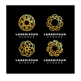 Орнамент с логотипом