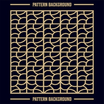ラインと抽象的な幾何学模様