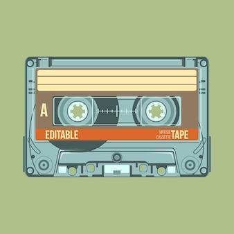 ヴィンテージカセットテープ