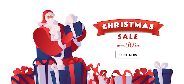 クリスマス割引販売バナー