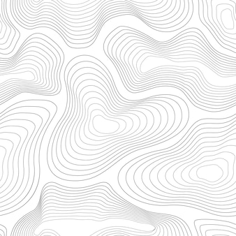 地形図パターン。