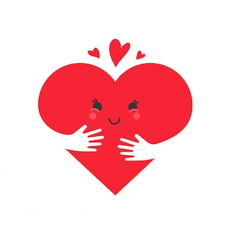 心の愛の概念