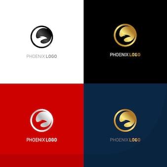 Роскошный логотип феникс