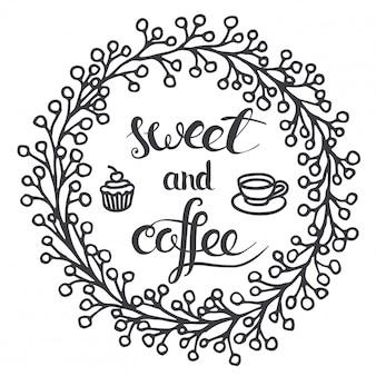 コーヒーと甘い