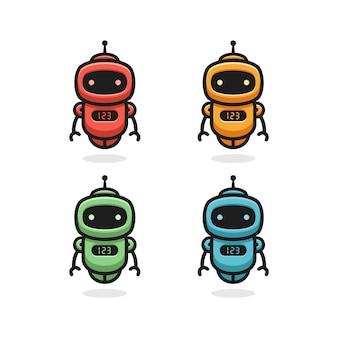 ロボットのロゴデザイン