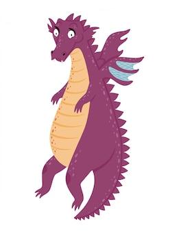 かわいいフライングドラゴン