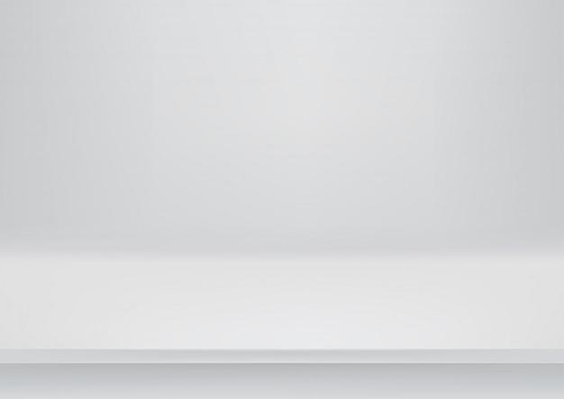 きれいな灰色のテーブルモックアップ。デザインのテンプレート