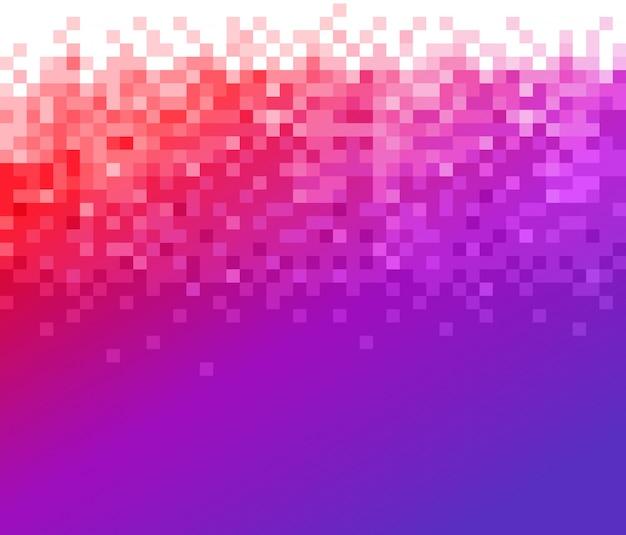 Градиентный мозаичный фон