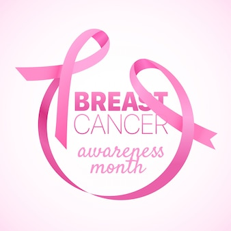 乳がん啓発バナー。