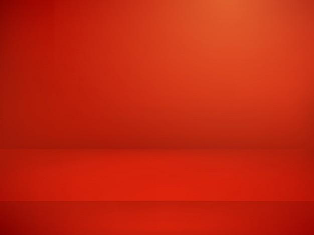 赤い照らされたステージ