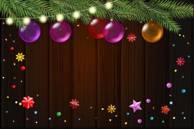 クリスマスの願いカード