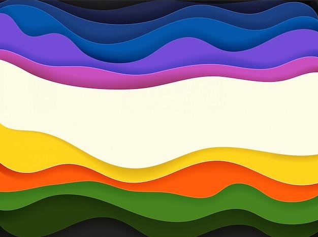 カラフルな抽象的なベクトルの背景