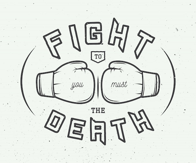 ボクシングスローガン