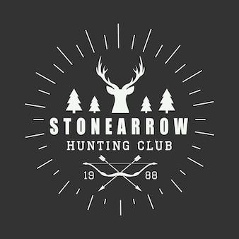 狩猟のロゴ