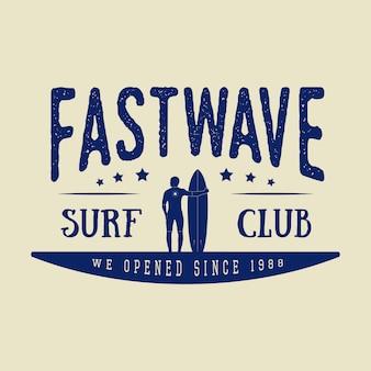 Логотип для серфинга