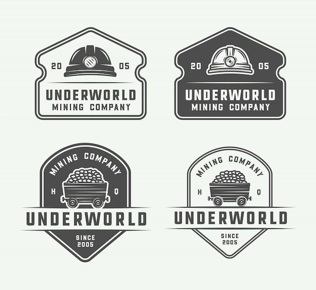 Горный или строительный логотип
