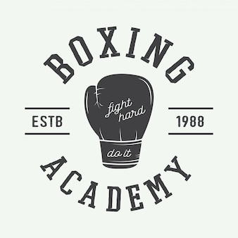 ボクシングのロゴ
