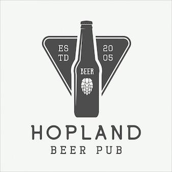 ビールのロゴ