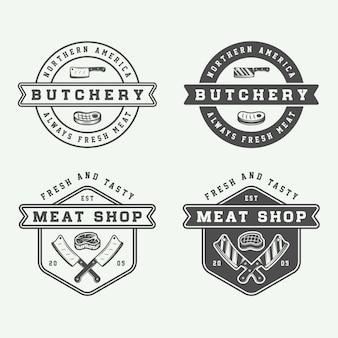 屠肉、ステーキ