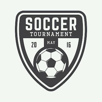 サッカーやサッカーのロゴ