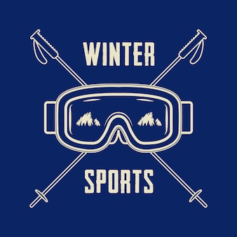 Логотип зимних видов спорта