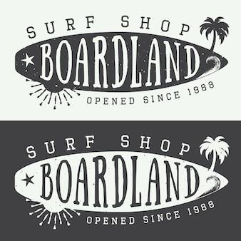 サーフィンのロゴ