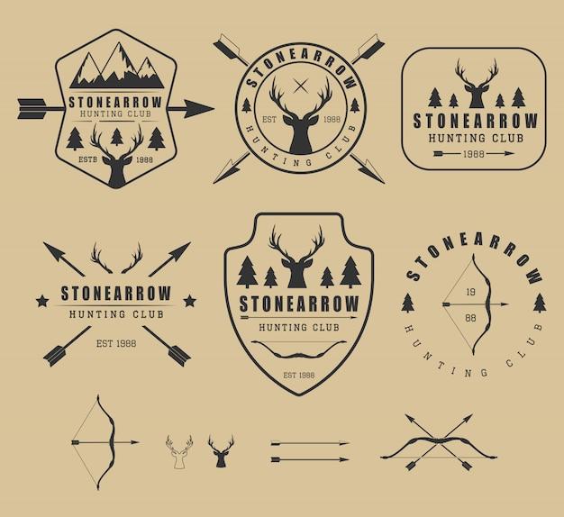 Охотничьи логотипы
