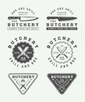 肉屋のロゴ