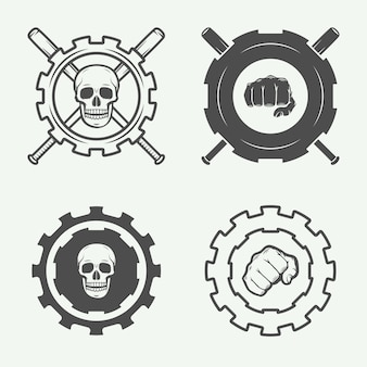 格闘クラブのロゴ