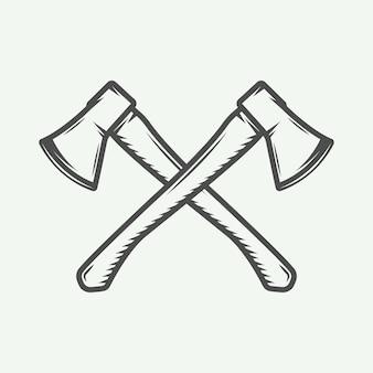Крестики в стиле ретро