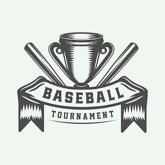 Логотип бейсбол спорт