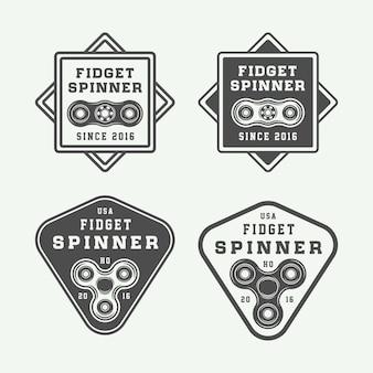 Набор логотипов для непоседы