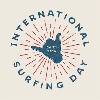 Логотип серфинга