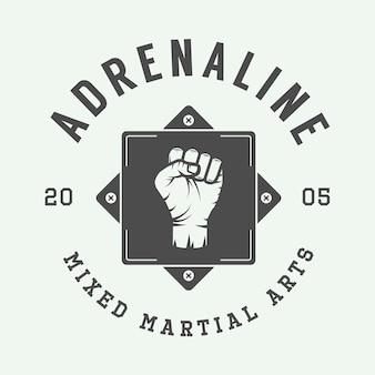 総合格闘技のロゴ