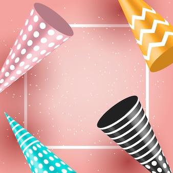 お祝い誕生日休日の風船の背景