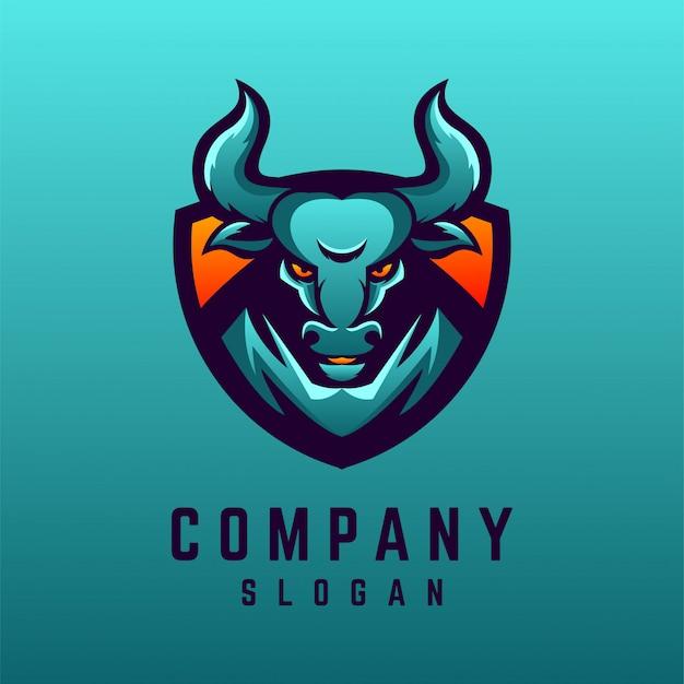 Дизайн логотипа быка