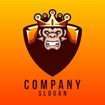Дизайн логотипа гориллы