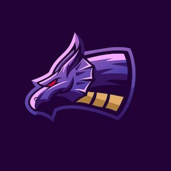 Дизайн логотипа дракона