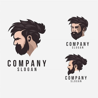 Борода логотип