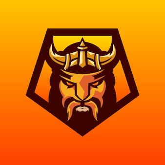 バイキングのロゴデザイン