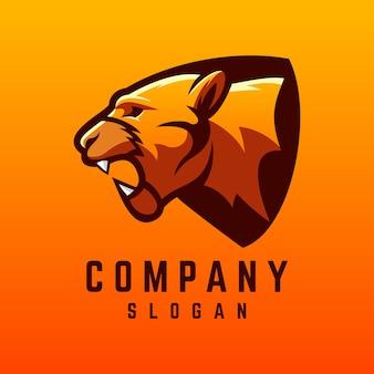 Пантера дизайн логотипа