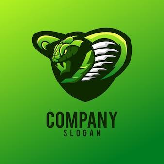ヘビのロゴデザイン