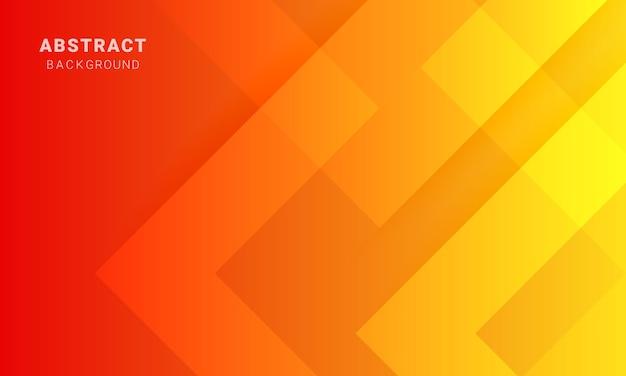 最小限のオレンジ色の背景、抽象的な動的背景